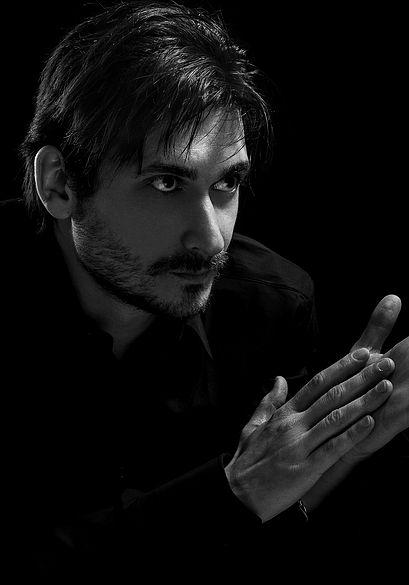 Stéphane Sangral Portrait IV par Vincent Macher